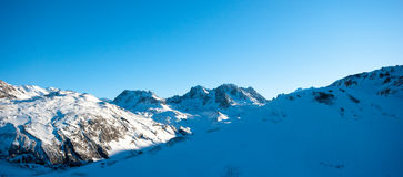 Courchevel Royalty Free Stock Photo
