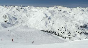 Courchevel - 4 Stock Image