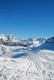 Courchevel - französische Alpen Stockfotos