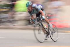 Coureur #2 de vélo Photo stock