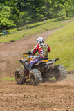 Coureur d'ATV Photos stock