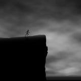 Coureur de falaise Image libre de droits