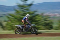 Coureur de motocross Photographie stock