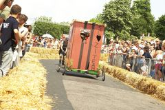 Coureur de Soapbox Photo libre de droits