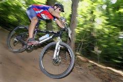 Coureur de vélo Images libres de droits