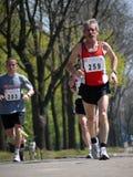 Coureurs de marathon Image libre de droits