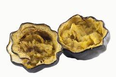 Courge cuite au four fraîche Photos stock