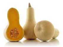Courge de Butternut Photographie stock
