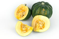 Courge de gland, potiron du Mexique Photos stock