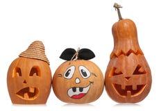 Courge de Halloween Photos libres de droits