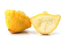 Courge jaune Pattypan images stock
