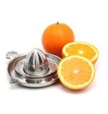 Courge orange Photo libre de droits