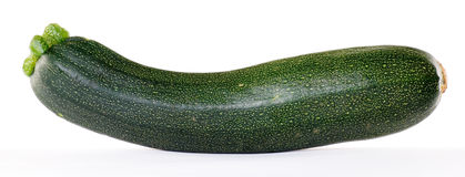 Courgette. On a white background stock image