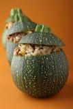 Courgette bourrée Image stock