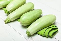 Courgette dappled fresh food, green zucchini.  royalty free stock photo