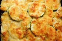 Courgette potatoes or potato au gratin Royalty Free Stock Photos