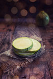 Courgette ronde Photo stock