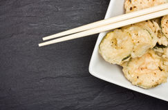 Courgette Tempura Royalty Free Stock Image