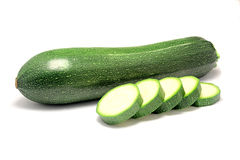 Courgette verde Foto de Stock Royalty Free