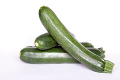 Courgette verte Photos stock