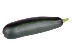 Courgette Zucchini изолированный на белой предпосылке Стоковые Фотографии RF