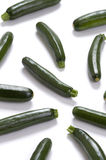 Courgette or zucchini Stock Image