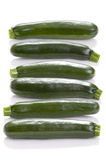 Courgette or zucchini Royalty Free Stock Photo