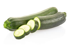 Courgette or zucchini Stock Photography