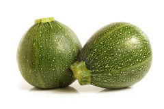 Courgette or zucchini Royalty Free Stock Images