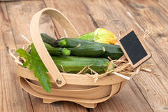 Courgettes Royalty Free Stock Photos
