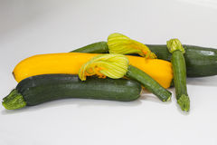 courgettes Fotografia Royalty Free