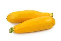 Courgettes jaunes Photo libre de droits