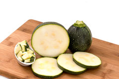 Courgettes Stock Images