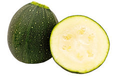 Courgettes Stock Image