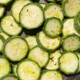 Courgettes zucchini Royalty Free Stock Images