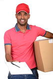 Courier royalty free stock photos