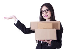 Courier Stock Images
