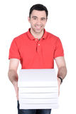 Courier Stock Photo