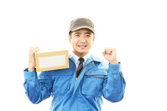 Courier Service Stock Photo