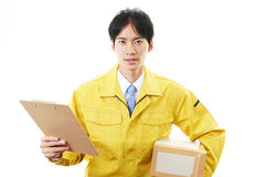 Courier Service Royalty Free Stock Image