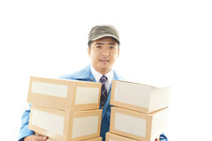 Courier Service Stock Photos