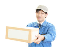 Courier Service Royalty Free Stock Photos