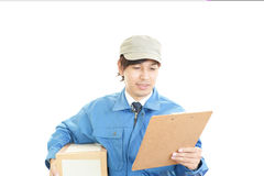 Courier Service Stock Photography