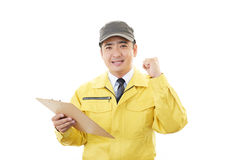 Courier Service Stock Image