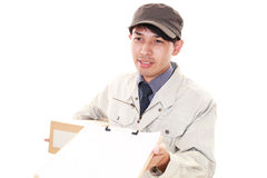 Courier Service Royalty Free Stock Images