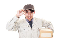 Courier Service Royalty Free Stock Photography
