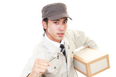 Courier Service Royalty Free Stock Photo