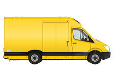 Courier van Royalty Free Stock Photo