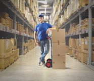 Courier Stock Photography