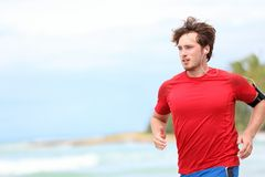 Courir d'homme Images stock